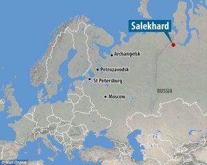 クレイジージャーニーで佐藤健寿が紹介していたネネツ族が住む場所までの行き方ですが、日本からはロシアの首都モスクワ経由で13時間かけて目的地サレハルドへ。